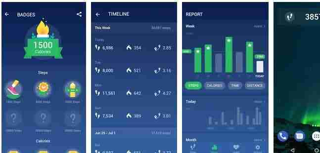 step counter android app by leap