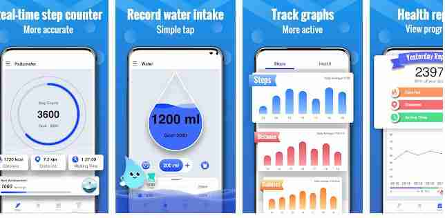 walk tracker app for android
