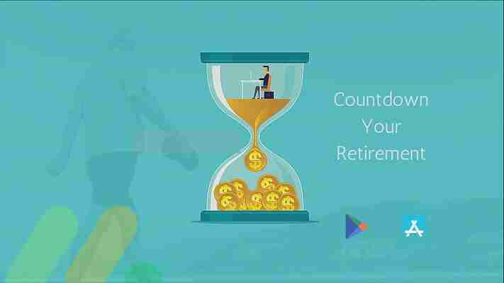 Best retirement countdown apps for android to count every minute.