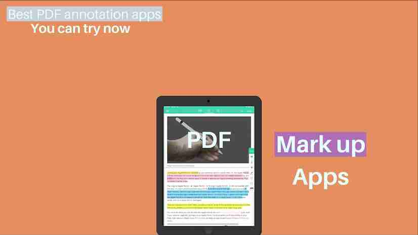 Best PDF annotation apps for iPad (Apple pencil optimized)