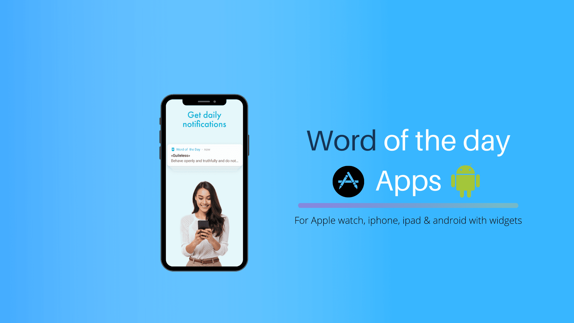 Best Word of the day apps with Widget (android & iOS)
