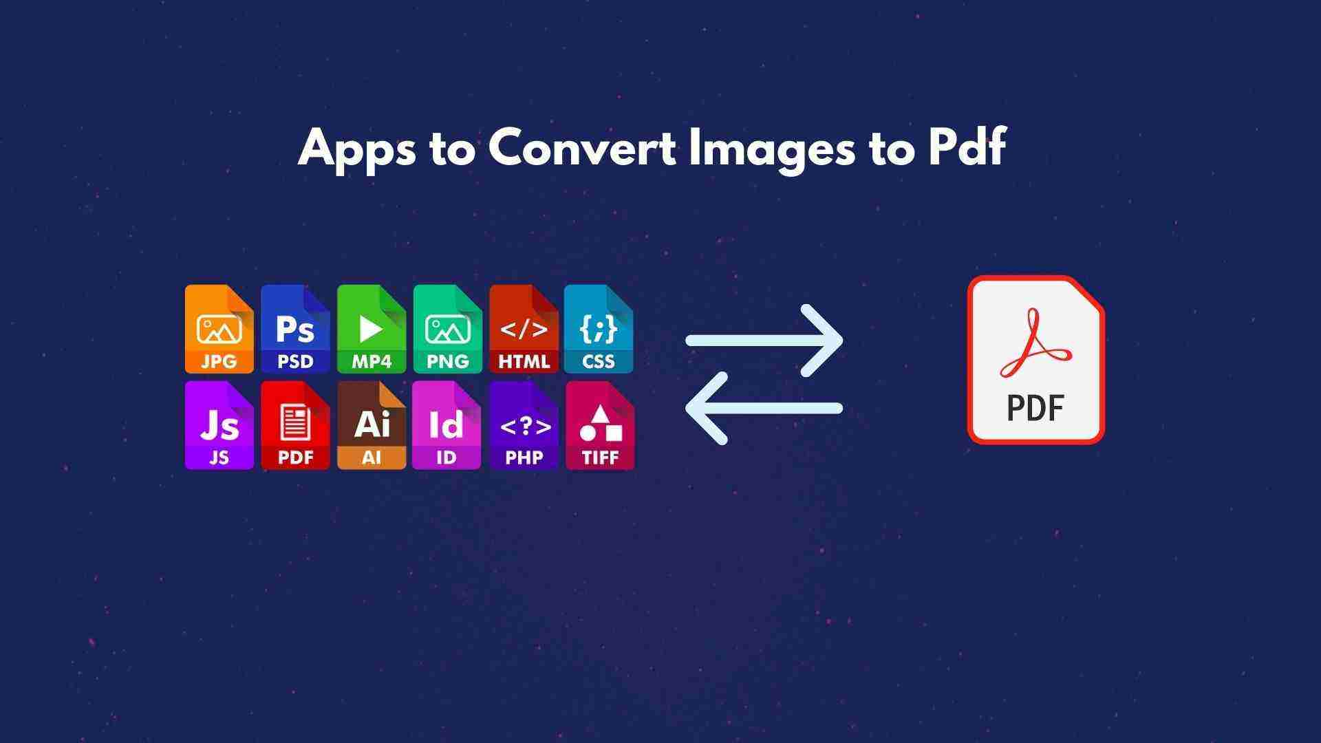 12 Best pictures to pdf converter apps to try offline.