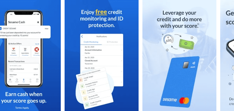 app that checks credit scores and reports.